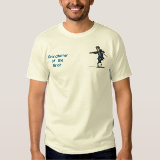 Dancing Groom  - Grandfather of Bride Embroidered T-Shirt