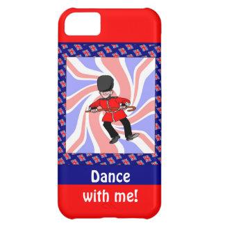 Dancing guardsman iPhone 5C covers