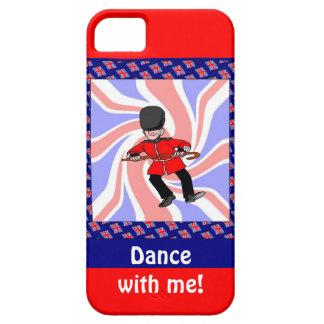Dancing guardsman iPhone 5 covers