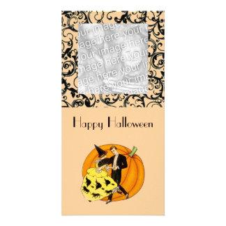 Dancing Halloween Couple Card