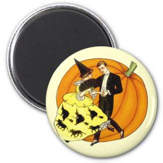 Dancing Halloween Couple Magnet