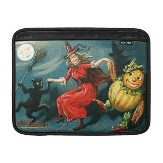 Dancing Halloween Witch Sleeves For MacBook Air