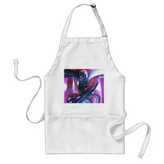 Dancing Hallucination Pastel Abstract Adult Apron