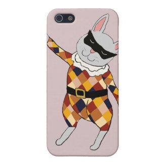 Dancing Harlequin Bunny iPhone 5 Case