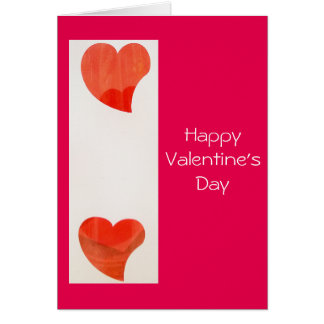 Dancing Hearts Valentine's Day Card
