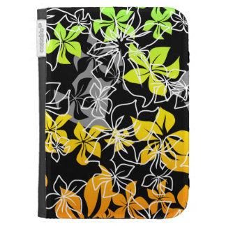 Dancing Hibiscus Hawaiian Kindle Folio Cases For The Kindle