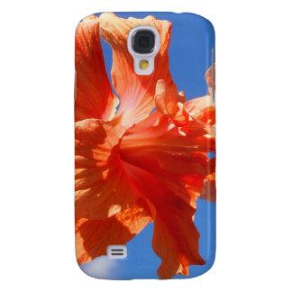 Dancing Hibiscus Samsung Galaxy S4 Case