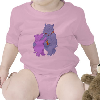 Dancing Hippo Tango Kids Shirt