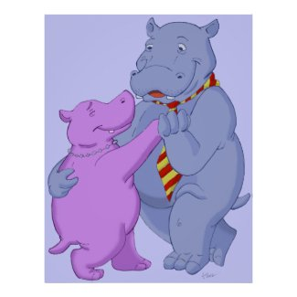 Image result for hippos dancing