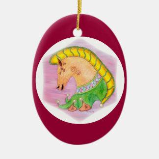 Dancing Horses Christmas Ornament