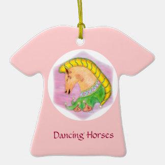 Dancing Horses Christmas Tree Ornament