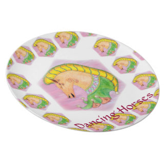 Dancing Horses Party Plates