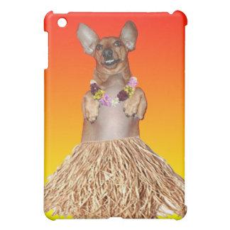 Dancing Hula Dachshund iPad Case