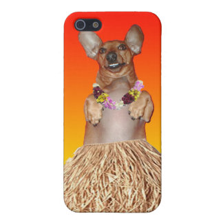 Dancing Hula Dachshund iPhone 4/4s Speck iPhone SE/5/5s Cover