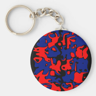 Dancing in Abstract Keychain