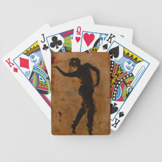 Dancing in Greek Bicycle Playing Cards