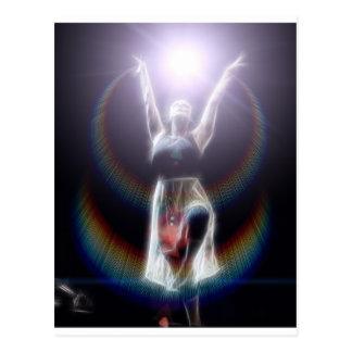 Dancing in Light Postcard