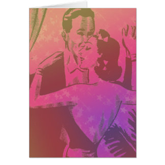 Dancing in Romance - Personalized Greeting Cards