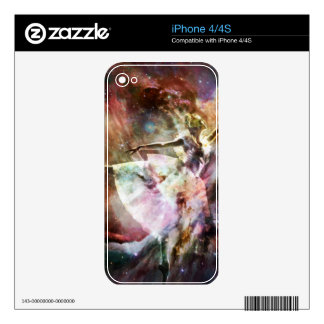 """""""Dancing In Stardust"""" Skins For The iPhone 4"""