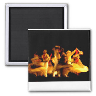 Dancing in the Dark 2 Inch Square Magnet