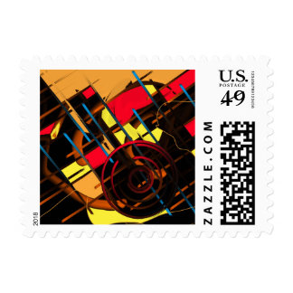 Dancing in the Evening Sky Postage Stamps