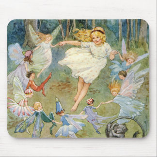 Dancing in the Fairy Ring Mouse Pad