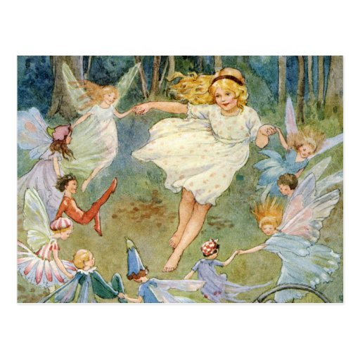 Dancing in the Fairy Ring Postcards