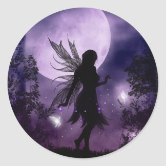 Dancing in the Moonlight Fairy Stickers