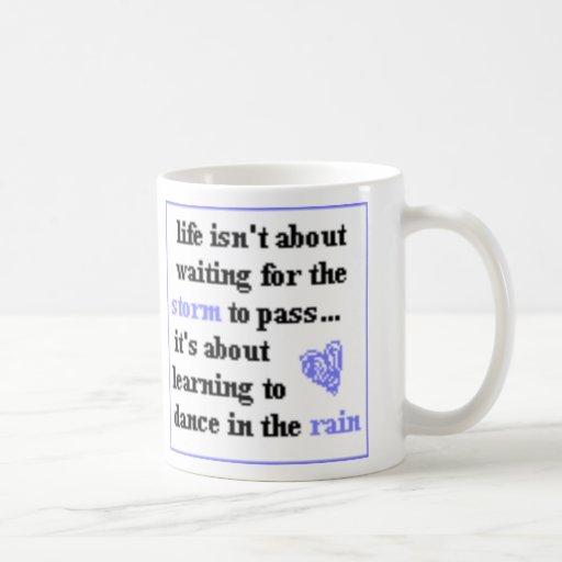 Dancing In The Rain Coffee Mug