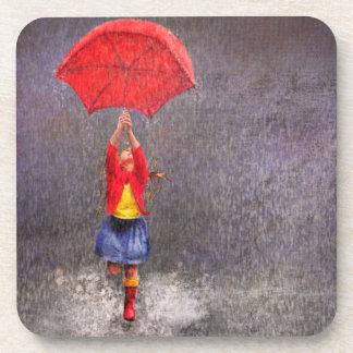 Dancing in the Rain Drink Coaster