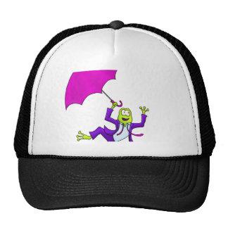 Dancing in the Rain Frog Trucker Hat