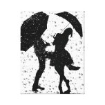 Dancing in the rain gallery wrap canvas