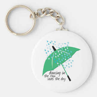 Dancing In The Rain Saves Keychains