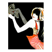 Dancing in the Shadows Postcard