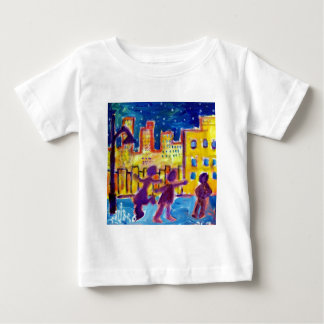 Dancing in the Street by Piliero Baby T-Shirt