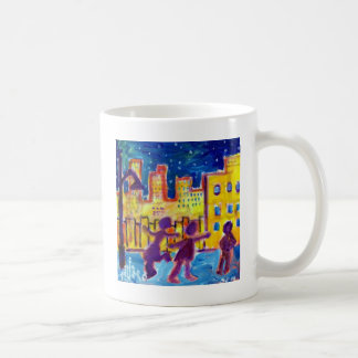 Dancing in the Street by Piliero Coffee Mug