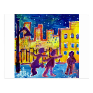 Dancing in the Street by Piliero Postcards