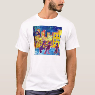 Dancing in the Street by Piliero T-Shirt