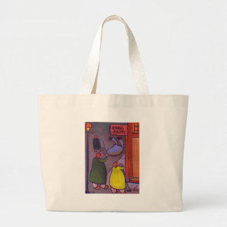 DANCING IN THE STREET LARGE TOTE BAG