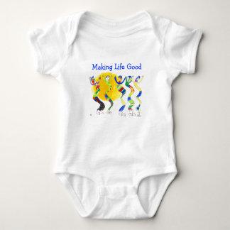Dancing in the Sun 5 Baby Bodysuit