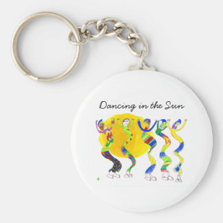 Dancing in the Sun 5 Keychains