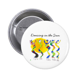 Dancing in the Sun 5 Pinback Buttons
