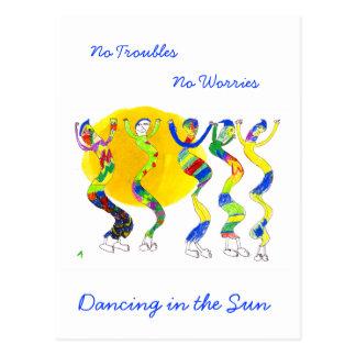 Dancing in the Sun 5 Postcard