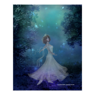 Dancing in the Woods Print