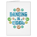 Dancing is Cool Greeting Card