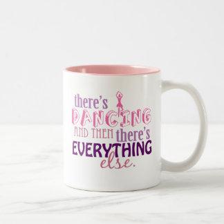Dancing is Everything Two-Tone Coffee Mug
