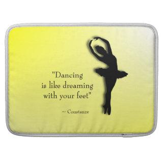 Dancing is Like Dreaming Ballet Sleeve For MacBook Pro