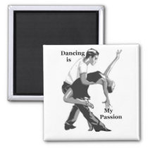 dancing is my passion perfect gifts for dancers magnet