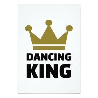 Dancing King 3.5x5 Paper Invitation Card