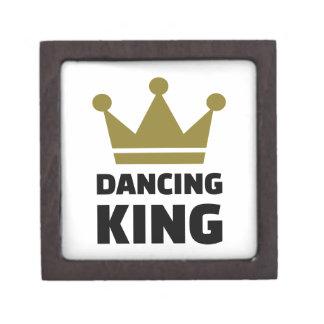 Dancing King Keepsake Box